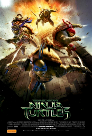 Turtles ninja poster