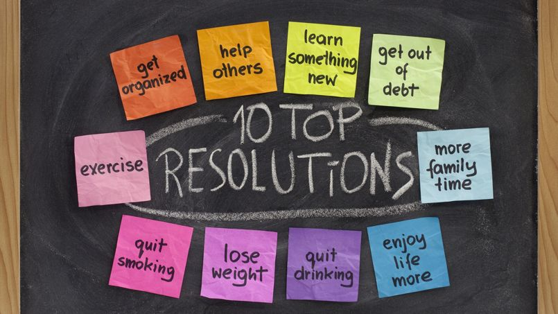 Top New Year resolutions
