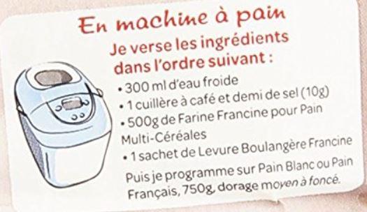 recette francine