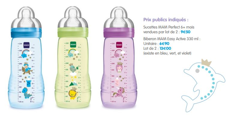 MAM easy active 3330ml
